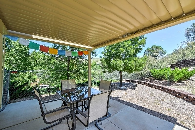 Relish in a private retreat off the beaten path when you stay at this 2-bedroom, 2-bathroom vacation rental house!
