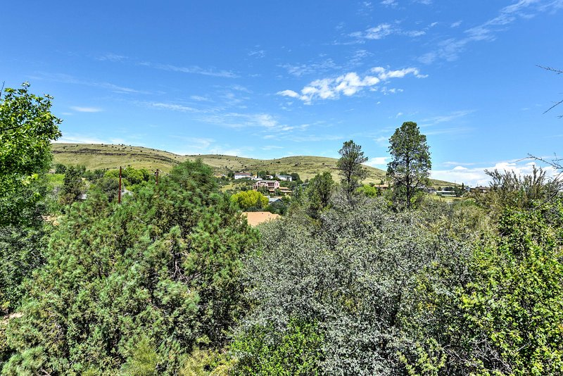 Located near the mountains, you'll enjoy easy access to hiking, mountain biking,  and more!