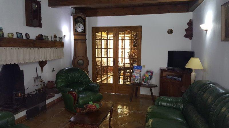 Maison indépendante deux terrasses - Le séjour
