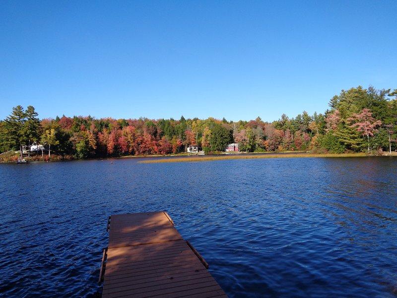 Vista lago dal nostro molo