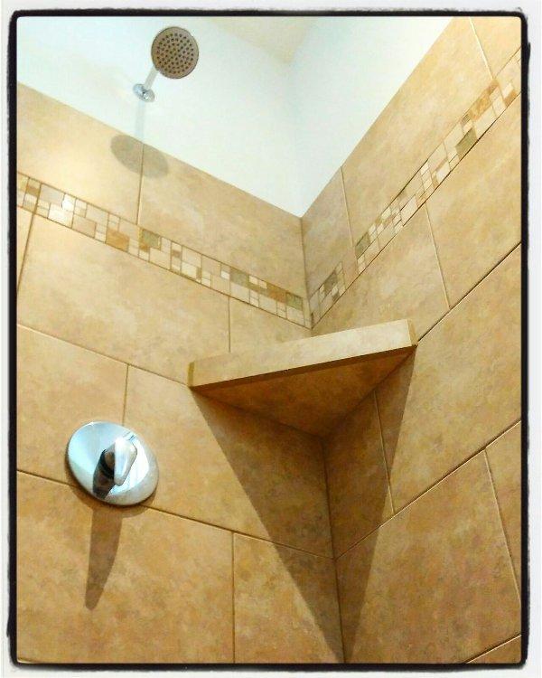 """Baño con ducha - Apartamento """"Ceiba BLANCA"""""""