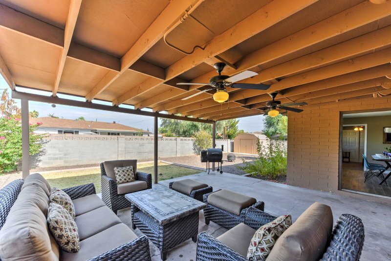 Escpae to this charming Scottsdale vacation rental home!