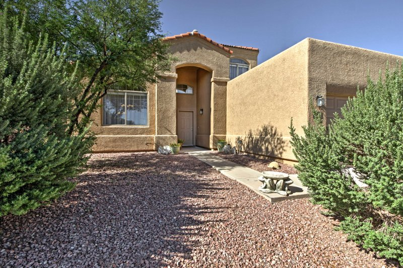 See the best of Tucson when you stay in this splendid home.