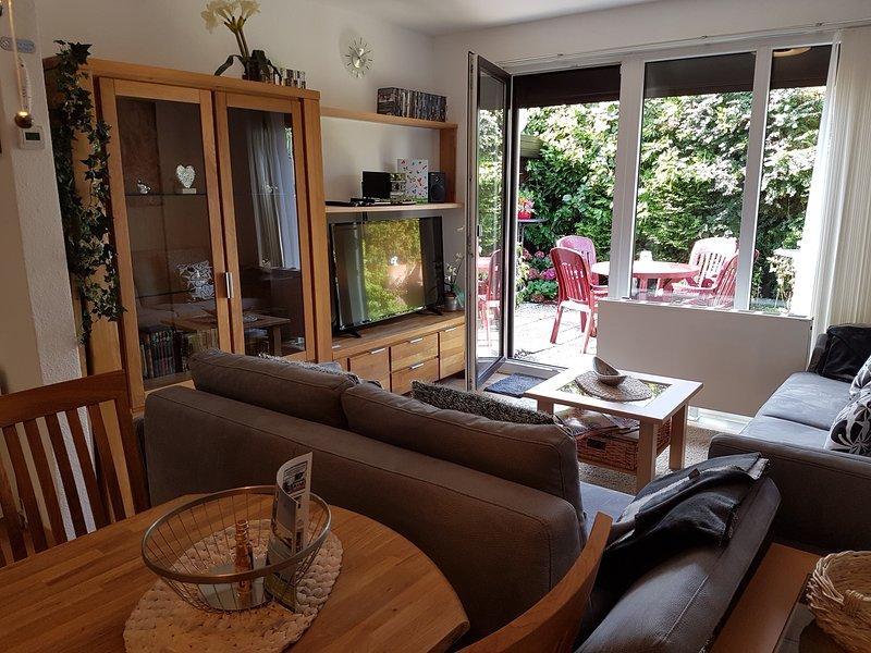 sala de estar con vistas a la terraza