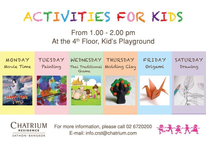 Kids activiteiten