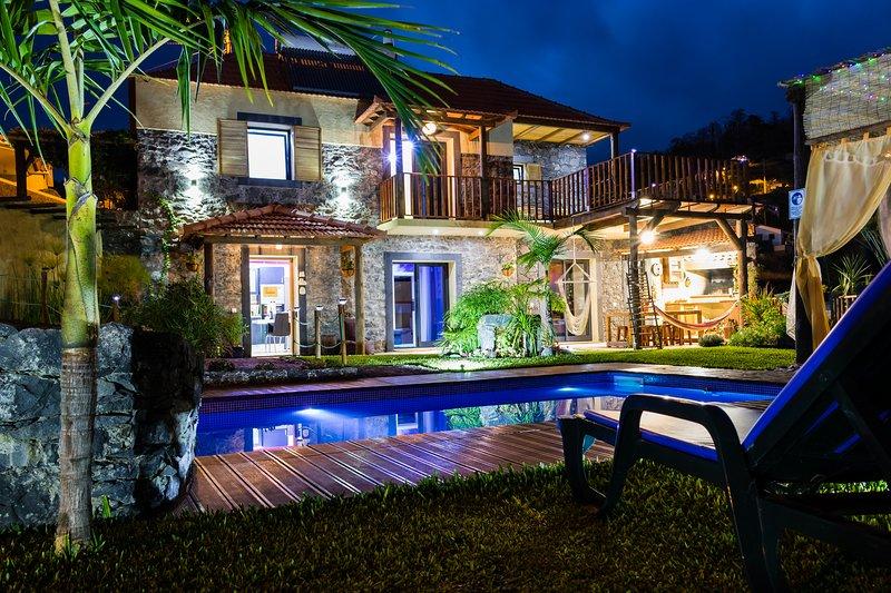Spectacular Villa ECOFontes, holiday rental in Arco da Calheta