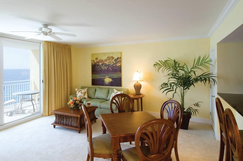 Wyndham Vacation Resort Panama City Beach Living Area