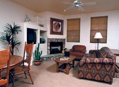 WorldMark Pinetop Living Room