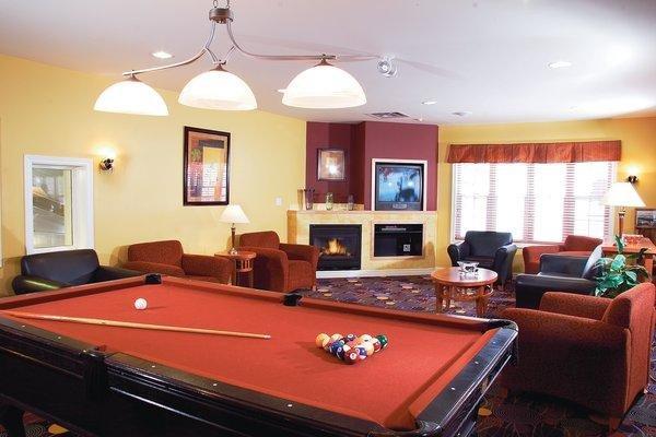 Carriage Ridge Resort Game Room.