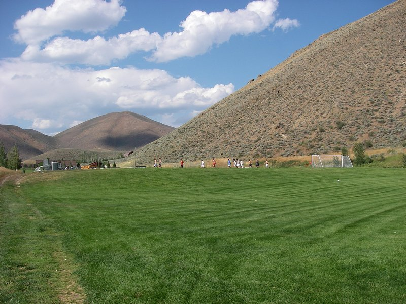 Idaho soccer fields.