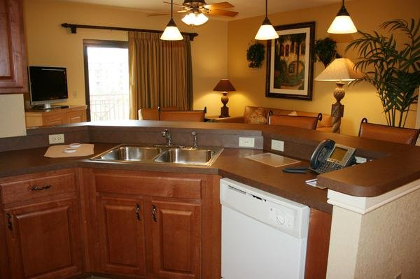 Wyndham Bonnet Creek Kitchen Overview