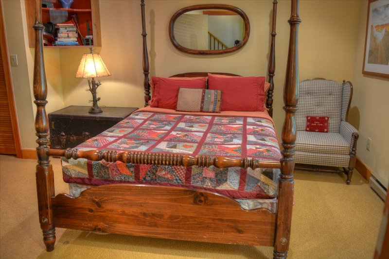 One of the Queen Size Bedroom Downstairs