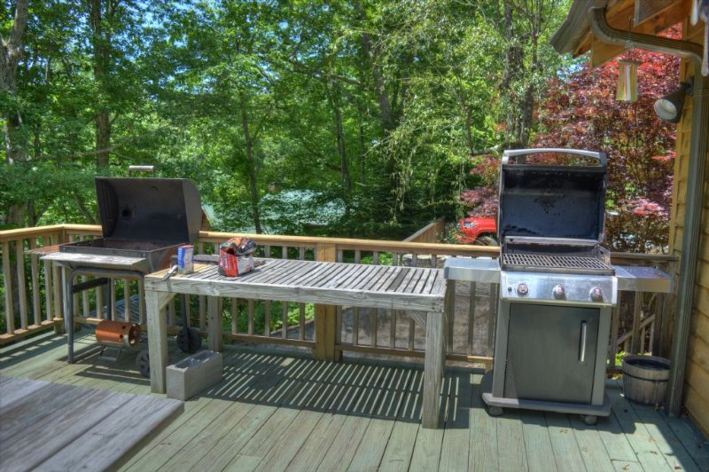 Choice of Gas or Charcoal Grills