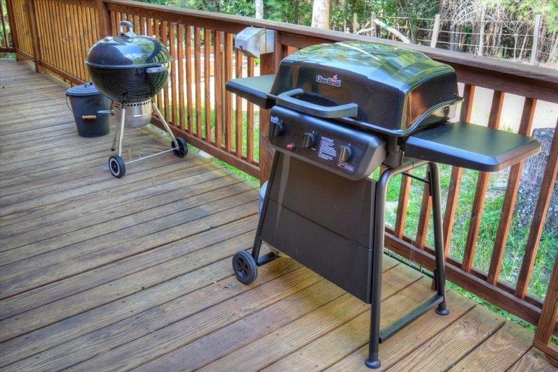 Your choice--Gas Grill or Charcoal