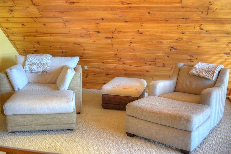 Sitting area in loft
