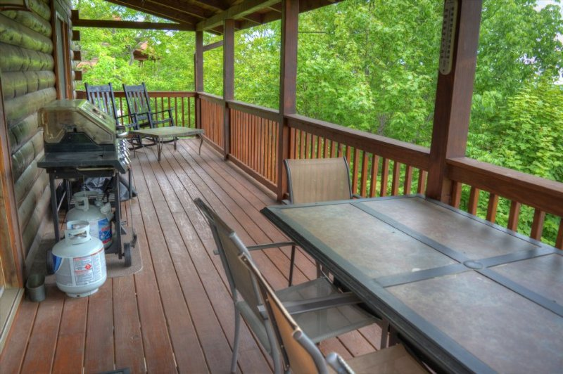 Covered Deck to enjoy the views.
