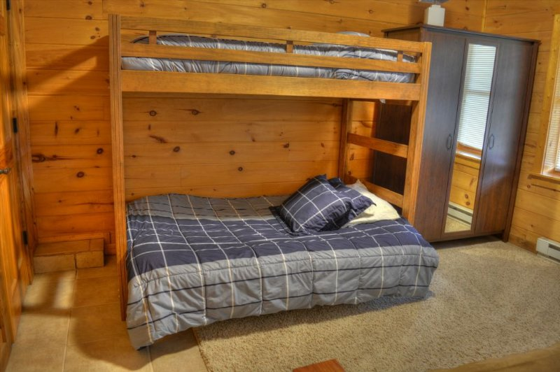 Bunk Beds on Lower Level