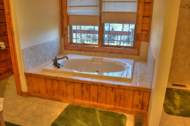 Master Bathroom with Whirlpool Tub