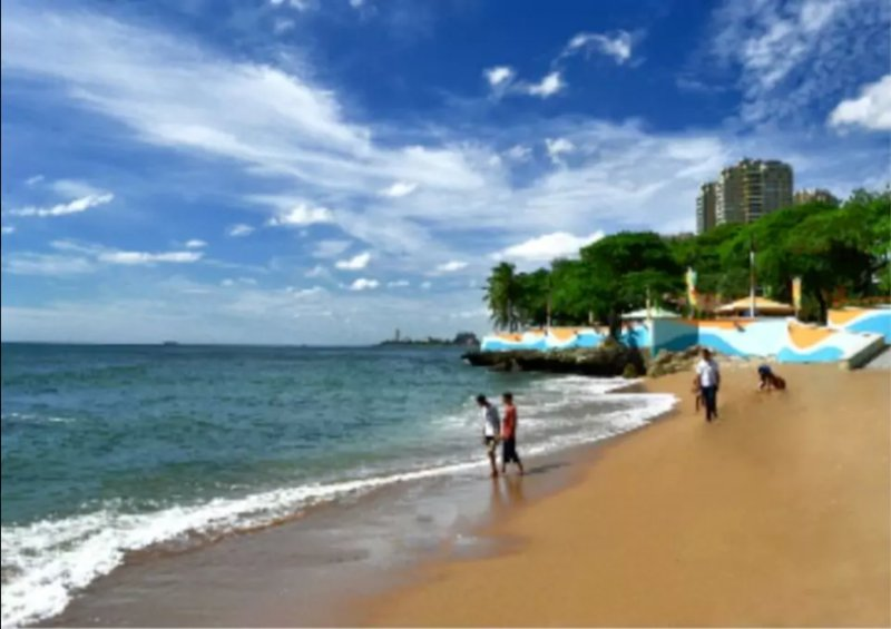 Ocean view in the Malecon of SD, holiday rental in San Cristobal