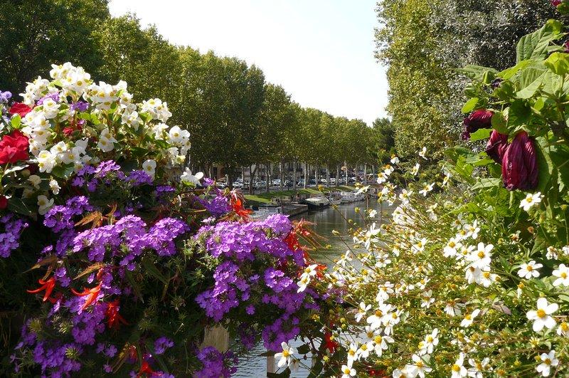 Midi canal Narbonne. 30 mins drive