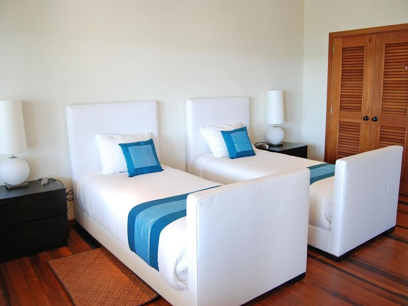 Large second bedroom with twin beds (a third optional bed is available)