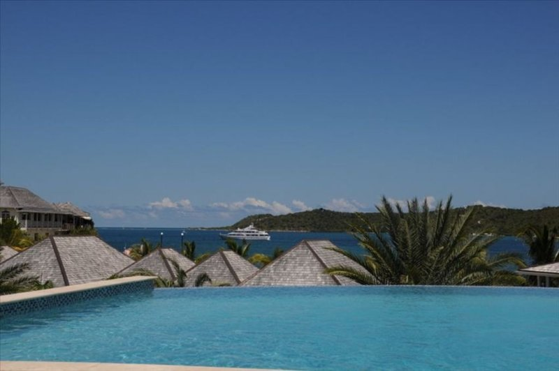 Our Infinity pool - one of 3 at the resort