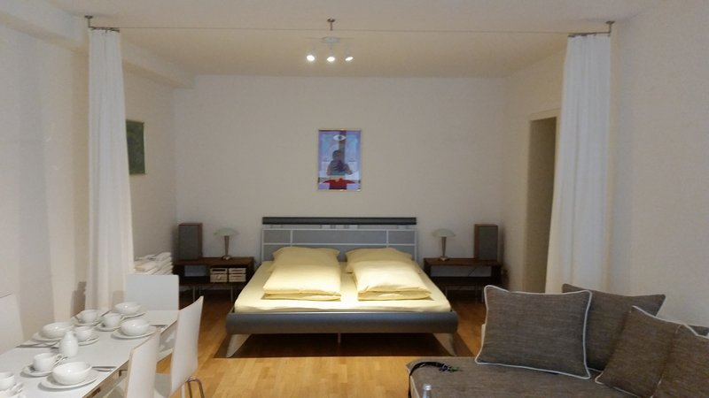 Apartment 'Akazie' am Ringpark bis 6 Gäste - Apartment close to the citypark, holiday rental in Lower Franconia