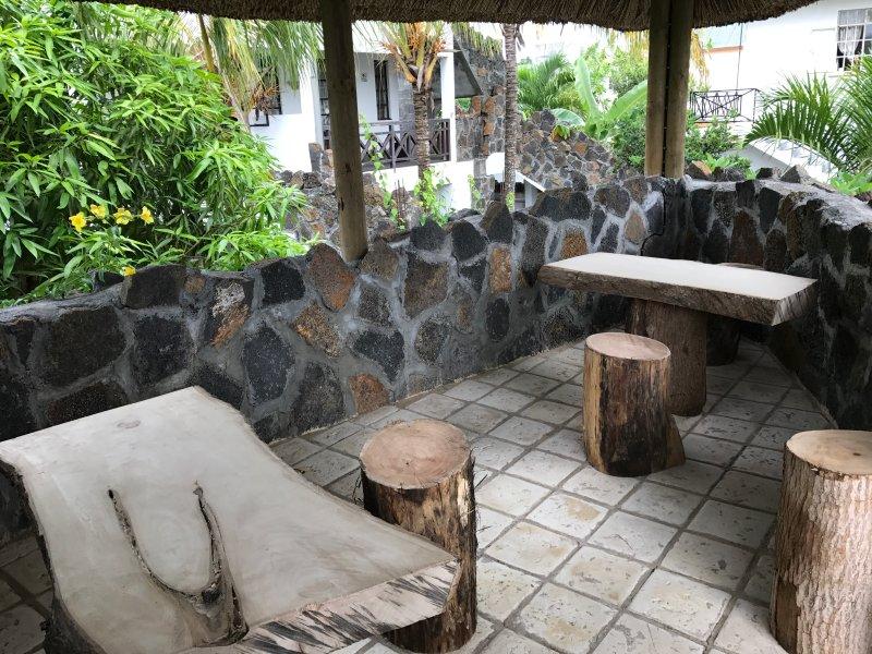 Tropical Terraza Wi-Fi se conecta para su uso Iu he prepago de datos Wifi