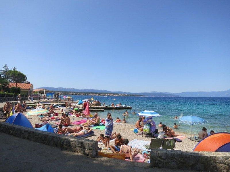 Malinska - beach