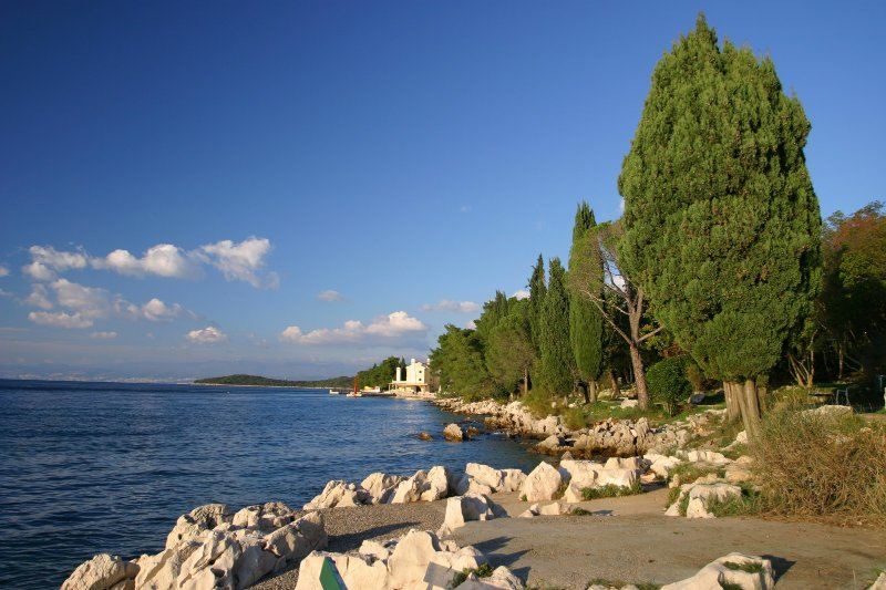 Malinska - sea