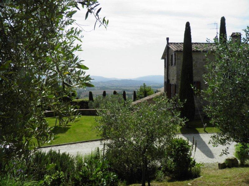 Une vue de la Chambre du jardin