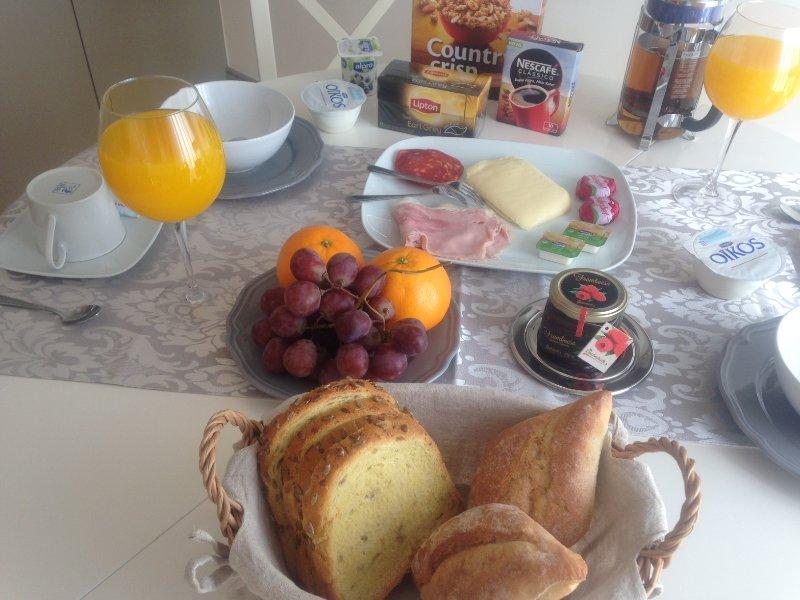 Mogelijkheid van het ontbijt