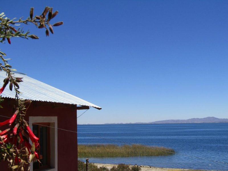 LUQUINA UTAMA LODGE - Views of the lake, vacation rental in Isla Amantani