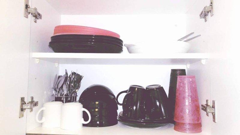 Dinnerware and silverware
