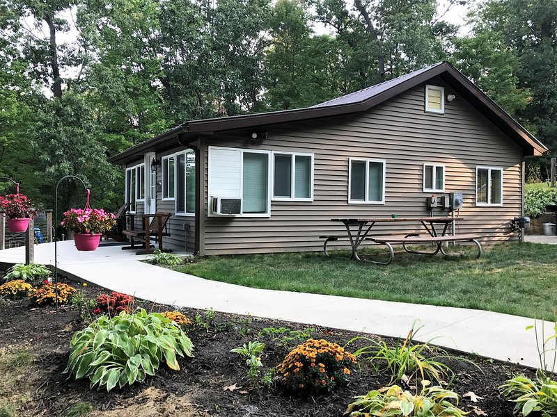 cozy cottage in the pinckney recreation area has central heating and rh tripadvisor com