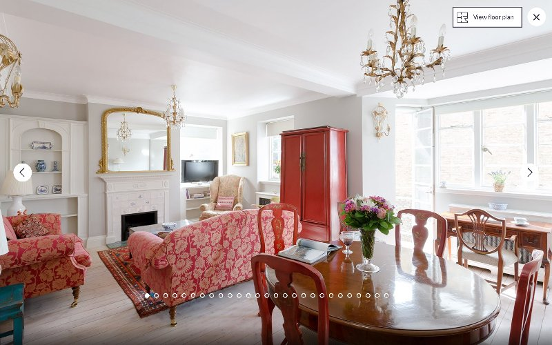 Relax in the beautiful surroundings of this lovingly restored 1930s apartment