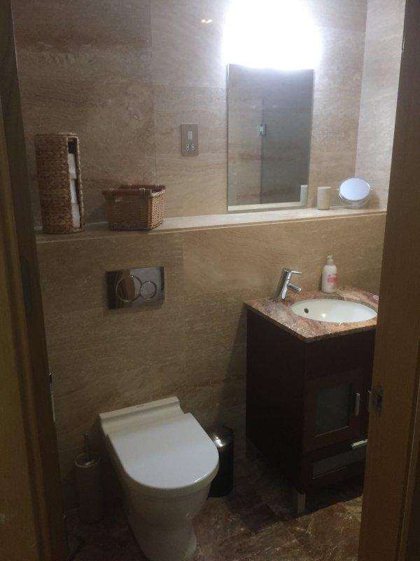 La chambre principale salle de bains