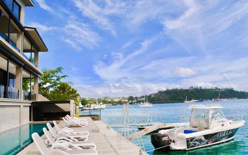 Onyx Luxury Residences Harbor Resort - Hébergement 5 étoiles au cœur de Port Vila, Vanuatu