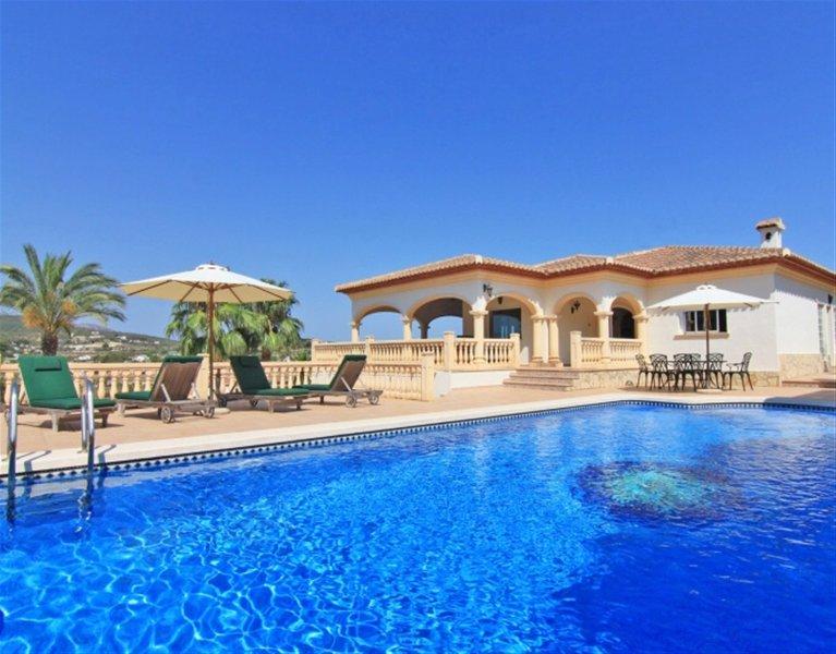 Excelente casa de vacaciones | Javea | vistas impresionantes