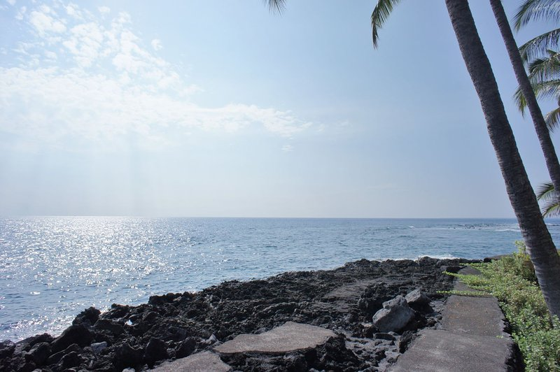 Ocean Front Views just steps from your island home!