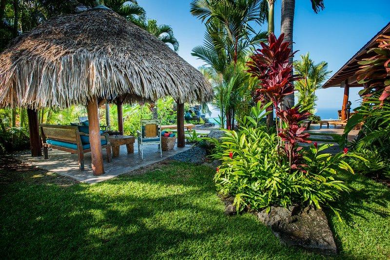 Enjoy Shaded Views from the Cabana