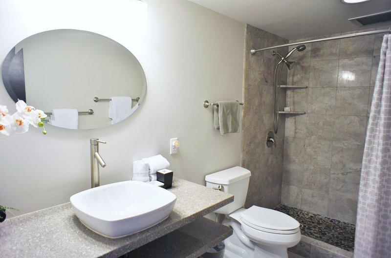 Modern Updated Bathroom With Spa Feel