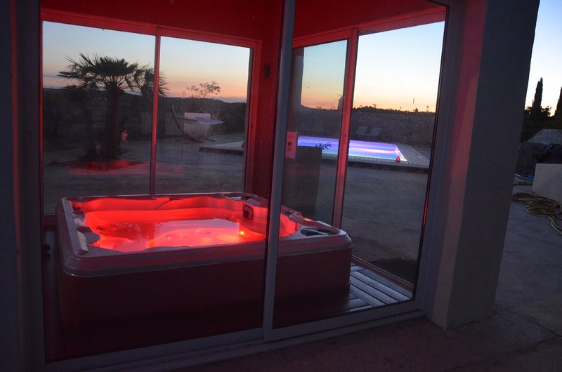 """SPA in Latin """"Sanitas per Aquam"""", meaning """"Health to the Water Aid"""" SPA heated at 37 °"""