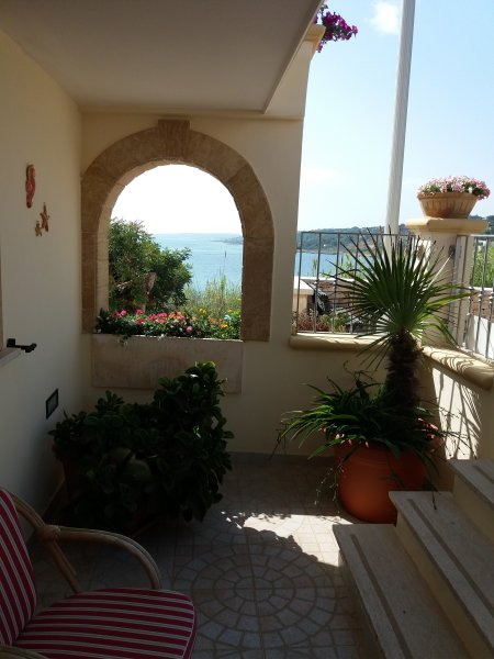 Veranda sea view ground floor