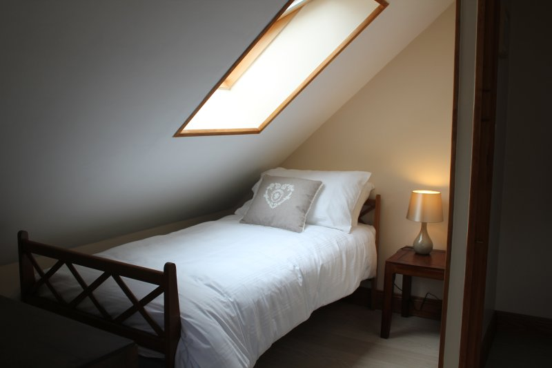 Second bedroom with twin bed