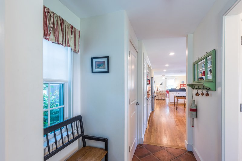Entry area, has Powder Room and Laundry Area