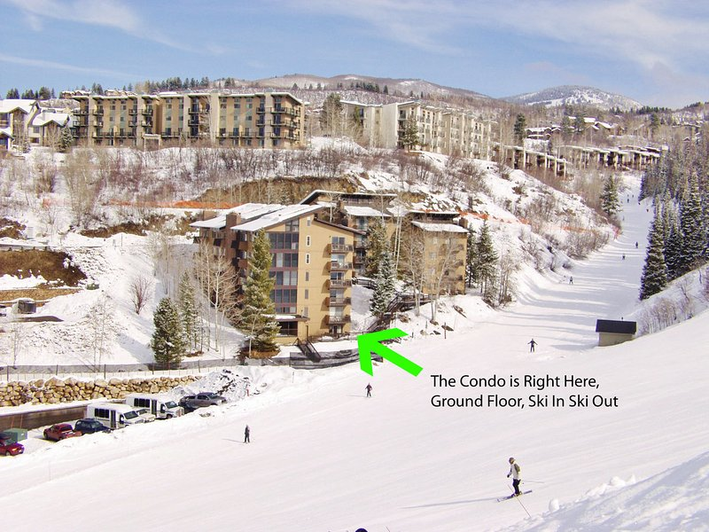 Exterior View showing the ground floor, ski in ski out location
