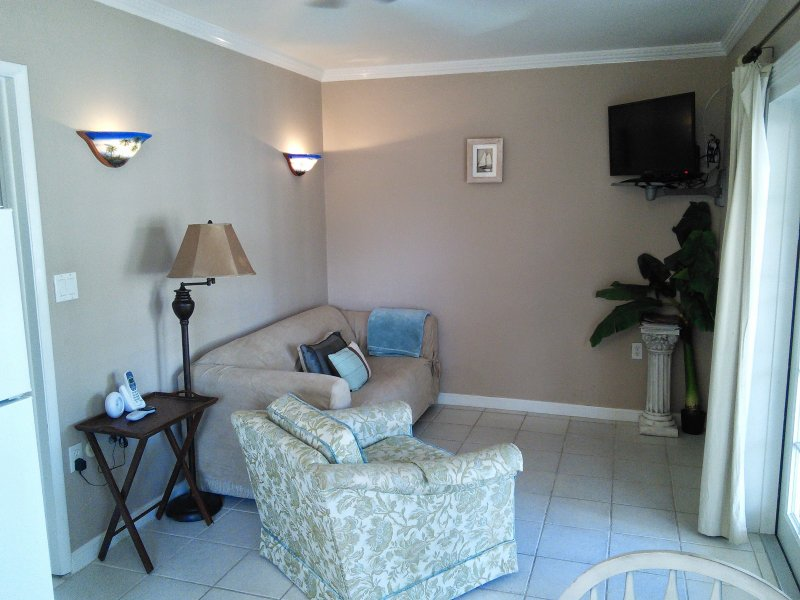 1-Bed Villa Living Room