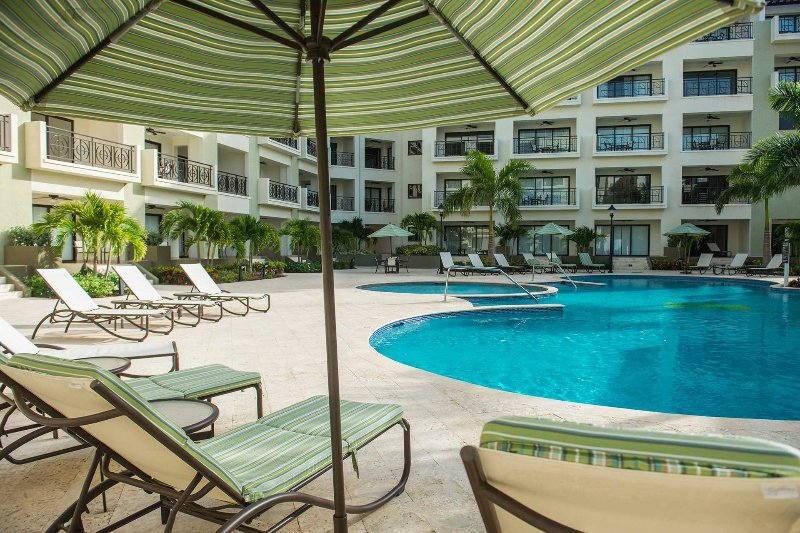Des chaises longues, des serviettes de piscine et des parasols sont inclus pendant votre séjour!