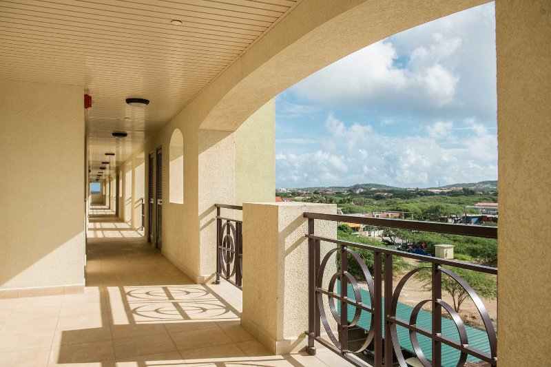 Couloir Resort avec vue sur l'île